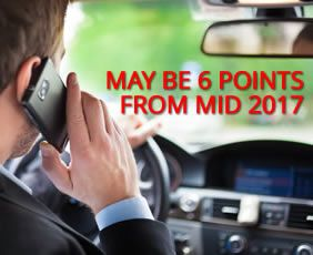 get a handsfree car kit to save you getting 6 points on your licence